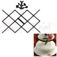 Sugarcraft Patchwork Cutters-Diamante lado diseño Estampador Decoración de Pasteles