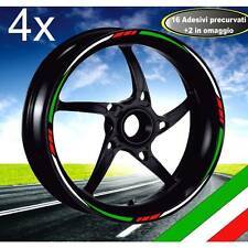 MOTORCYCLE RIM STRIPES WHEEL TAPE ITALIA ADESIVI CERCHI HONDA SH 125-150-300