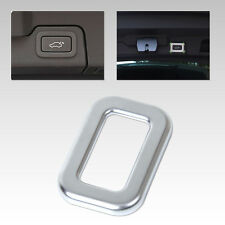 Chrome Rear Trunk Switch Button Frame Cover Trim For Range Rover Sport L494 L405