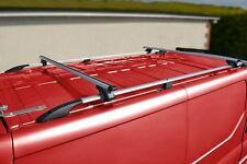 Vauxhall Opel / Vivaro Aluminium Roof Rack Rails Cross Bars + Load Stops
