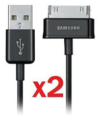 Qty of 2 Genuine OEM Sync Data Cable Charger for Samsung Galaxy Tab 3 10.1 7.0