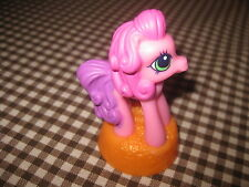 My little Pony McDonald's Pink & Orange PVC Figurine Cake Topper 2007