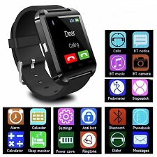 Wrist Bluetooth Smart Watch Sports Phone Mate For HTC Android Samsung iPhone