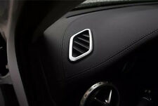 ABS Chrome upper air vent outlet cover trim for Mercedes Benz GLA X156 2014 2015