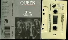 Queen The Game Uk Cassette Tape
