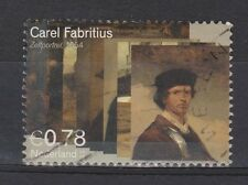 NVPH Netherlands 2292 used Zelfportret DUTCH PAINTER FABRITIUS 2004