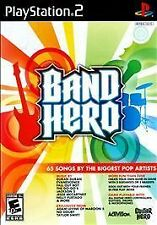 NEW SEALED ~ BAND HERO Playstation 2 PS2 ~ band rock dance music track GAME ONLY