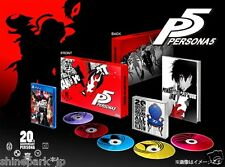 PS4 Persona 5 20th Anniversary Edition Treasure BOX w/Art book + 5CD + 5DLC