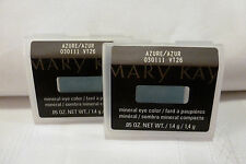 Lot of 2 MARY KAY~Azure~MARY KAY MINERAL EYE COLOR SHADOW No Sales Tax!!