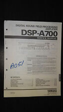 Yamaha dsp-a700 service manual Original Repair surround sound amplifier amp