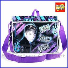 Justin Bieber Messenger Bag Cross Body Bag  Book Bag New