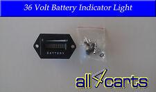 Golf Cart Battery Meter | 36 Volt Battery indicator light | Universal to 36v