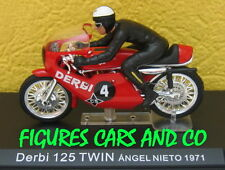 MOTO GP 1/24 DERBI 125 TWIN 1971 PILOTE ANGEL NIETO