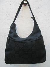 AUTHENTIQUE sac à main GUCCI  cuir et  toile BEG vintage bag ---