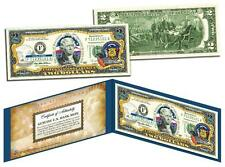 WISCONSIN Statehood $2 Two-Dollar Colorized U.S. Bill WI State *Legal Tender*