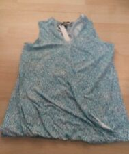 White and Blue Top Size 10