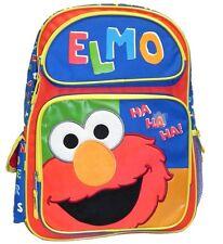 """Sesame Street Elmo 16"""" backpack 05456, New"""