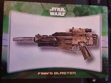 2015 Topps Star Wars The Force Awakens Weapon #2 Finn's Blaster