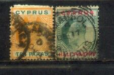 2 Cyprus Old Stamps Lot 1
