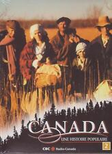 12 DVD SET - CANADA UNE HISTOIRE POPULAIRE - A People's History FRENCH 2 3 4 NEW
