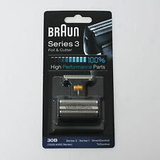 BRAUN Mens Shaver 30B Foil & Cutter 7000 Series Syncro Pro Replacement Parts NEW