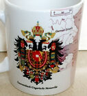 Austro-Hungarian Empire Map and Imperial & Royal Arms ~Austria Hungary~ MUG