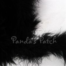 Marabou Fluffy Feather String Swansdown Trim - Choose Length and Colour Free P&P