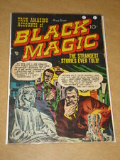 BLACK MAGIC VOL 1 #6 G (2.0) CRESTWOOD COMICS JACK KIRBY SEPTEMBER 1951
