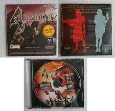 Resident Evil 4 (Promo DVD Making Of) + Movie Ost (CD Promo)