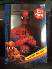 Marvel Comics Spider-man Bust Bank NEW Coin Bank Statue Detailed Classic Toys