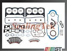 96-06 GM 4.3L V6 Vortec Engine Full Gasket Set w/ Bolts kit 4300 CPI 262ci motor