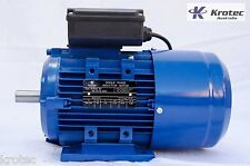 Electric motor single-phase 240v 0.75kw 1hp 1410rpm