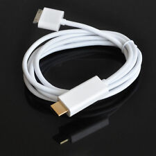 NEW 6FT 30 Pin 1080P Dock Connector To HDMI TV Adapter Cable for iPad 2 3