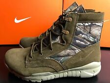 Nike SFB 6 RT QS Mens Trekking Outdoor UK 9 EUR 44 Brown Real Tree 716594 902