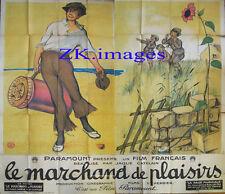 MARCHAND DE PLAISIRS Paramount POULBOT Affiche 1923