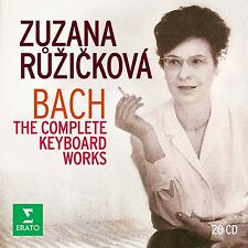 ZUZANA RUZICKOVA - THE COMPLETE KEYBOARD WORKS 20 CD NEU BACH,JOHANN SEBASTIAN