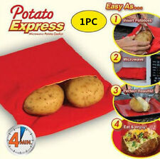 NEW Potato Express- Perfect Potatoes Microwave Bake Cooking TV Product ORIGINAL