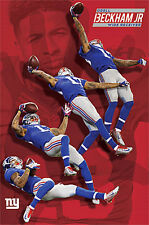 ODELL BECKHAM JR. Multi-Action Miracle Catch New York Giants NFL WALL POSTER