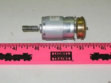 Lionel new parts DC motor with flywheel & gear