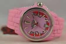 Von Dutch Ladies 39mm SWISS MADE Pink Angel Watch - $434.00 Tag Attached