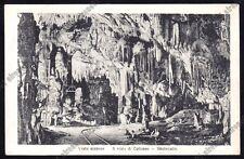 SLOVENIA Slovenija POSTUMIA 23 POSTOJNA Adelsberg GROTTE Cartolina viagg. 1923