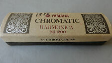 Yamaha 1200 Chromatic Harmonica Incl Box