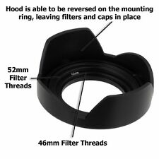Fotodiox Obiettivo PARASOLE-Lens hood Kit Lumix G VARIO 14-42mm f/3.5-5.6 II