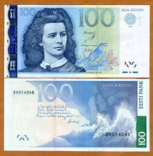 Estonia, 100 Krooni, 2007, P-88, UNC   Pre Euro, Obsolete Currency