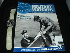 Eaglemoss Military Watches - Issue 7 - Australian Naval Diver Watch 1960s NO BOX