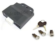 CDI unit Plus Keys + Lockset. Fits Vespa ET4 LX Liberty 125. Removes Immobilizer