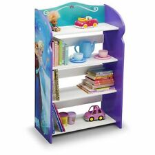 Bookshelf Frozen Kids Room Girls 4 Shelfs Bedroom Furniture Playroom Elsa New