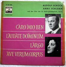 Single (s) - CARO MIO BEN - Rudolf Schock / Anny Schlemm und Chor