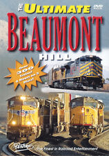 The Ultimate Beaumont Hill Railroad DVD Pentrex UP SP NS CSX BNSF CEFX C&NW