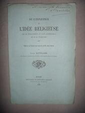 Influence idée religieuse sur le dvt de l'art architec et civilisa, 1882, envoi
